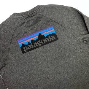 Patagonia Crew Neck Pullover Logo Sweatshirt